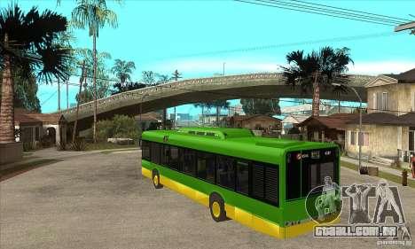 Solaris Urbino 11 para GTA San Andreas traseira esquerda vista