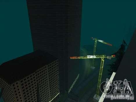 Nova cidade v1 para GTA San Andreas oitavo tela