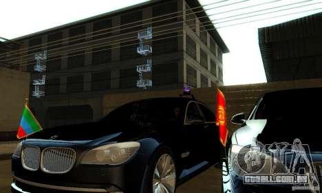 BMW 750Li para GTA San Andreas vista direita