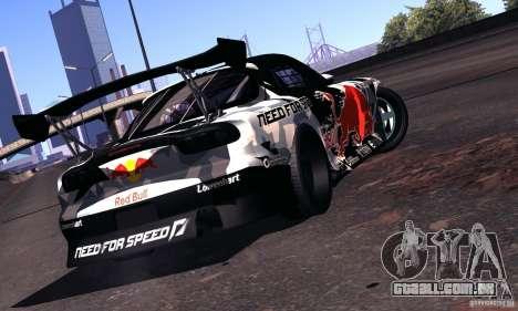 Mazda RX-7 Mad Mike para GTA San Andreas vista direita