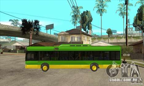 Solaris Urbino 11 para GTA San Andreas esquerda vista