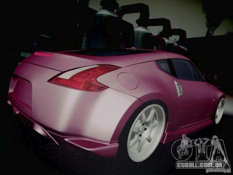 Nissan 370Z Fatlace para GTA San Andreas vista superior
