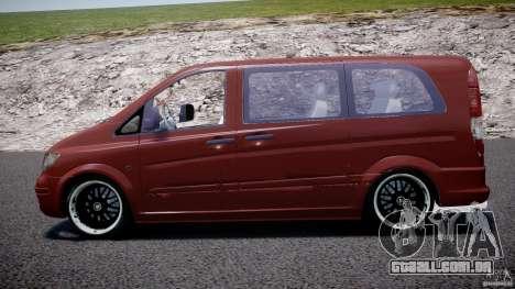 Mercedes-Benz Vito SportVIP para GTA 4 esquerda vista