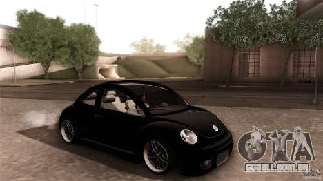 Volkswagen Beetle RSi Tuned para as rodas de GTA San Andreas