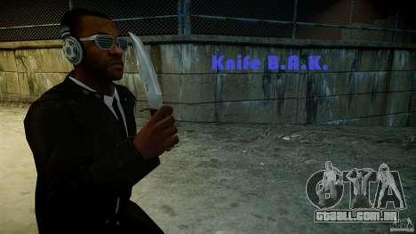 B.A.K. Knife para GTA 4