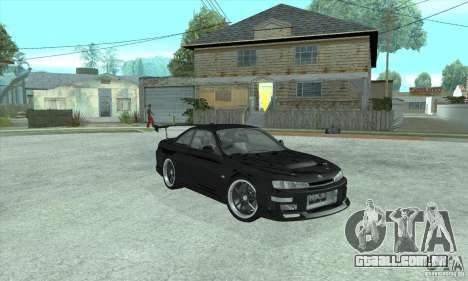 NISSAN SILVIA S14 CHARGESPEED FROM JUICED 2 para GTA San Andreas esquerda vista