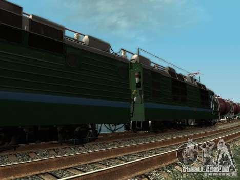 Vl80s-2532 para GTA San Andreas traseira esquerda vista