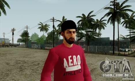 Substituto de pele Bmyst para GTA San Andreas