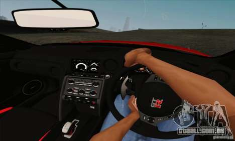 Nissan GT-R R-35 2012 para GTA San Andreas vista traseira
