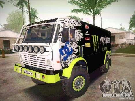 KAMAZ Master 4911 Monster Energy para GTA San Andreas