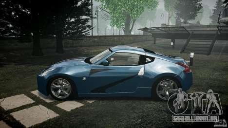 Nissan 370Z Coupe 2010 para GTA 4 esquerda vista