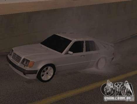 Mercedes-Benz E500 Taxi 1 para GTA San Andreas esquerda vista