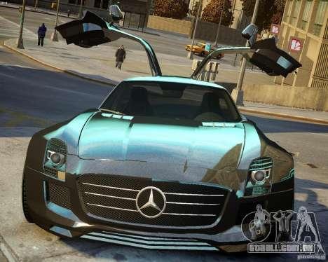 Mercedes SLS Extreme para GTA 4 vista interior