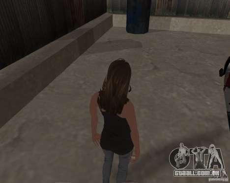 Tony Hawks Emily para GTA San Andreas quinto tela