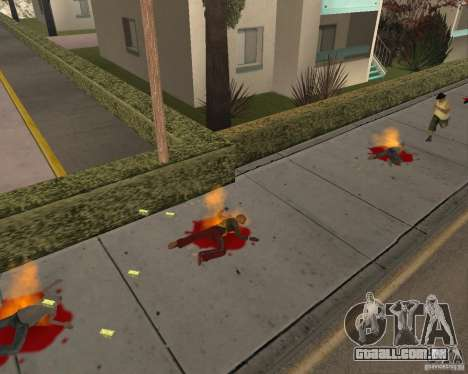 Munição incendiária para GTA San Andreas terceira tela