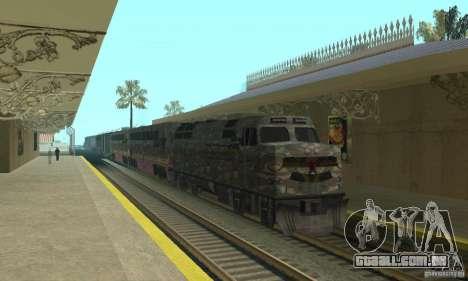 Trem de Camo para GTA San Andreas