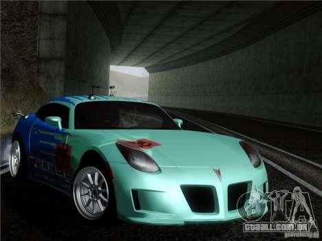 Pontiac Solstice Falken Tire para GTA San Andreas