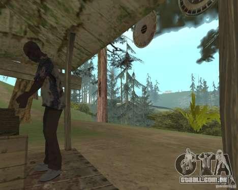 Em uma visita a vovó para GTA San Andreas terceira tela
