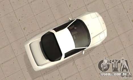Acura NSX 1991 para GTA San Andreas vista direita