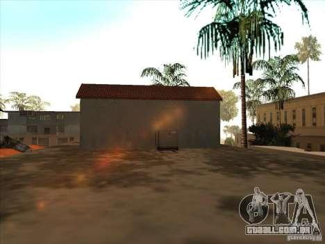 Mapa de Parkour e bmx para GTA San Andreas por diante tela