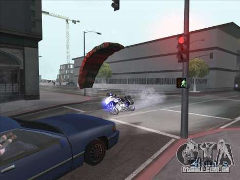 Pára-quedas para bajka para GTA San Andreas segunda tela