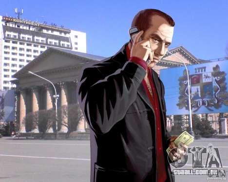 Telas de carregamento cidade de Stavropol para GTA 4