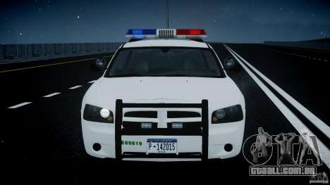 Dodge Charger US Border Patrol CHGR-V2.1M [ELS] para GTA 4 vista inferior