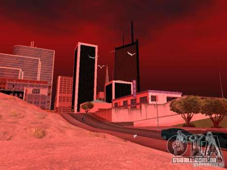 Weather manager para GTA San Andreas twelth tela
