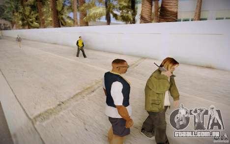 Pessoas falando ao telefone para GTA San Andreas