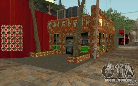 Uma aldeia nova Dillimur para GTA San Andreas terceira tela