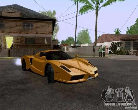 Ferrari Enzo para GTA San Andreas vista direita