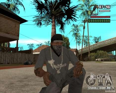 Call of Juarez Bound in Blood Weapon Pack para GTA San Andreas segunda tela