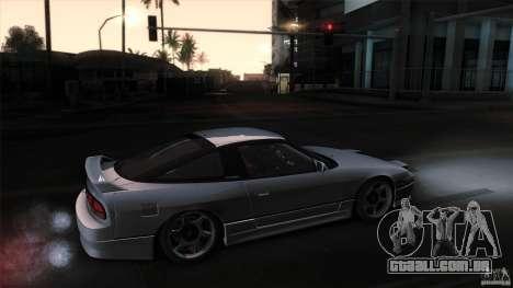 Nissan 240SX S13 Drift Alliance para GTA San Andreas traseira esquerda vista