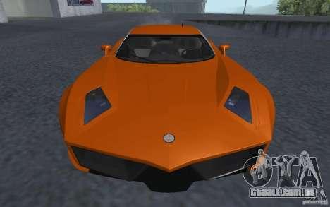 Spada Codatronca TS Concept 2008 para GTA San Andreas traseira esquerda vista