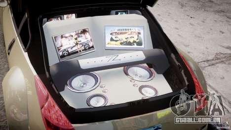 Nissan 350Z Veilside Tuning para GTA 4 vista superior