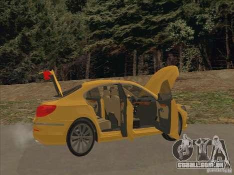 Volkswagen Passat CC para GTA San Andreas interior