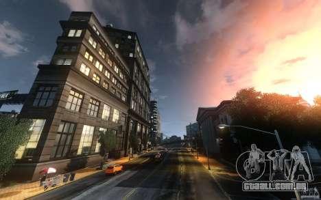 Telas de menu e inicialização de Liberty City em para GTA San Andreas quinto tela