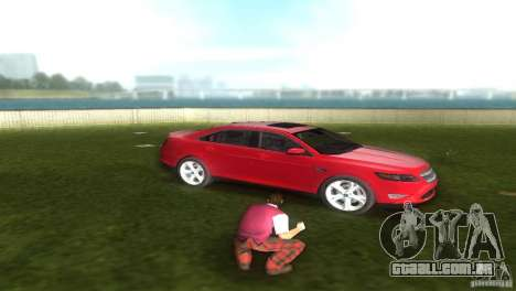 Ford Taurus para GTA Vice City vista direita