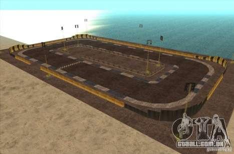 Nova faixa para drifting para GTA San Andreas
