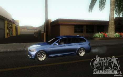 BMW F11 530d Touring para GTA San Andreas esquerda vista