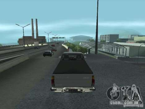 Nissan Pick-up D21 para GTA San Andreas vista direita