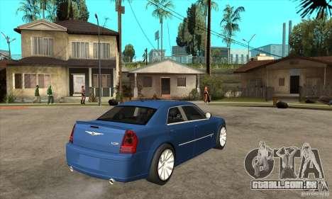 Chrysler 300C SRT 8 2008 para GTA San Andreas vista direita