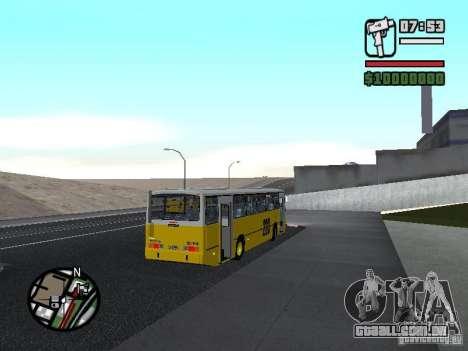 Ciferal GLS Volvo B10M para GTA San Andreas vista direita