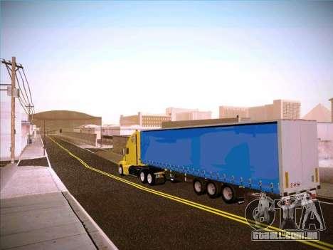 Freightliner Century Classic para GTA San Andreas traseira esquerda vista