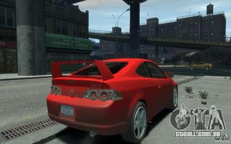 Acura RSX para GTA 4 esquerda vista