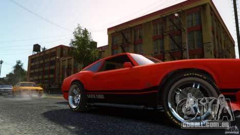 Sabre GT II Vinyl Roof para GTA 4 vista direita