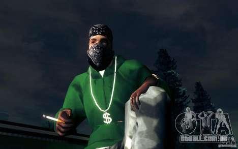 Cigarro realista para GTA San Andreas quinto tela