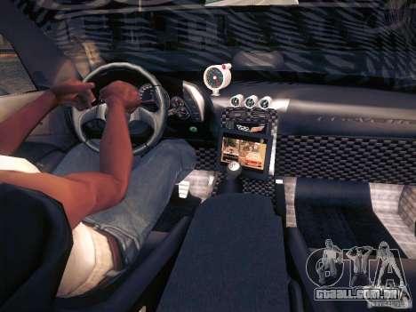 Chevrolet Corvette C6 Z06 Tuning para o motor de GTA San Andreas