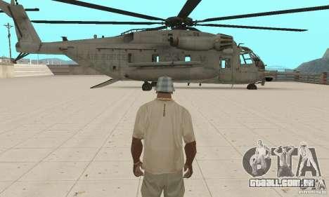 Sikorsky MH-53 para vista lateral GTA San Andreas
