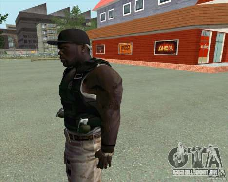 50 Cent para GTA San Andreas terceira tela